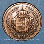 Coins Autriche. Burgau. Marie-Thérèse (1740-1780). 1/4 kreuzer 1772G. Günzbourg