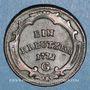 Coins Autriche. Burgau. Marie-Thérèse (1740-1780). 1 kreuzer 1772G. Günzbourg