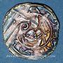 Coins Autriche. Evêché de Salzbourg. Eberhard I d'Hippolstein et de Bibourg (1147-1164). Denier. Freisach