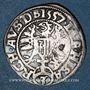 Coins Autriche. Ferdinand I (1522-1564). 3 kreuzer 1557. Linz