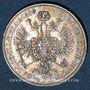 Coins Autriche. François Joseph I (1848-1916). 1/4 florin 1858A. Vienne