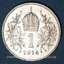 Coins Autriche. François Joseph I (1848-1916). 1 couronne 1914