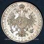 Coins Autriche. François Joseph I (1848-1916). 1 florin 1860A. Vienne