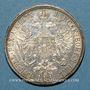 Coins Autriche. François Joseph I (1848-1916). 1 florin 1875