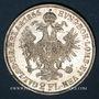 Coins Autriche. François Joseph I (1848-1916). 2 florins 1866A. Vienne