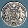 Coins Autriche. François Joseph I (1848-1916). 20 heller 1892