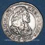 Coins Autriche. Léopold I (1657-1705). 3 kreuzer 1667. Hall