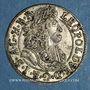 Coins Autriche. Léopold I (1657-1705). 3 kreuzer 1689. Hall