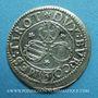 Coins Autriche. Léopold V, archiduc (1619-1632). 3 kreuzer n. d. Hall. Légende fautive : TIROT ! ! !