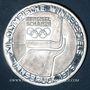 Coins Autriche. République. 100 schilling (1976). Jeux olympiques d'hiver d'Innsbruck. Tremplin-écusson
