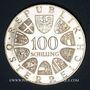 Coins Autriche. République. 100 schilling 1977. Kremsmünster - 1200e anniversaire