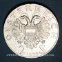 Coins Autriche. République. 2 schilling 1936. Prince Eugène de Savoie