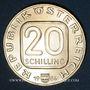 Coins Autriche. République. 20 schilling 1984. Château de Grafenegg