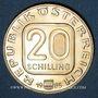 Coins Autriche. République. 20 schilling 1985. 200e anniversaire du diocèze de Linz