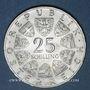 Coins Autriche. République. 25 schilling 1965. von Prechtl - Ecole technique  supérieure de Vienne