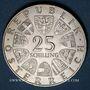 Coins Autriche. République. 25 schilling 1972. Carl Michael Ziehrer