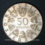 Coins Autriche. République. 50 schilling 1978. Franz Schubert
