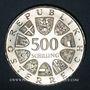 Coins Autriche. République. 500 schilling 1982. Léopold Figl