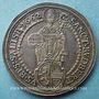 Coins Autriche. Salzbourg, Evêché. Guidobald, comte de Thun et Hohenstein (1654-1668). Taler 1662