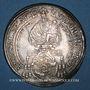 Coins Autriche. Salzbourg, Evêché. Guidobald, comte de Thun et Hohenstein (1654-1668). Taler 1664