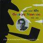 Coins Belgique. 10 euros argent 2003. Georges Simenon