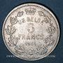 Coins Belgique. Albert I (1909-1934). 1 belga / 5 francs 1931. Légende française
