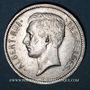 Coins Belgique. Albert I (1909-1934). 1 belga / 5 francs 1933. Légende française