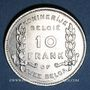 Coins Belgique. Albert I (1909-1934). 10 francs / 2 belgas 1930. Légende flamande
