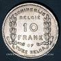 Coins Belgique. Albert I (1909-1934). 10 francs / 2 belgas 1930