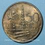 Coins Belgique. Baudouin I (1951-1993). 50 francs 1958