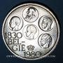 Coins Belgique. Baudouin I (1951-1993). 500 francs 1980. Légende flamande
