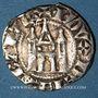 Coins Belgique. Brabant. Jean III (1312-1355). Esterlin ou châtel brabançon. Bruxelles