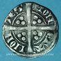 Coins Belgique. Comté de Hainaut. Jean II d'Avesnes (1280-1304). Esterlin. Mons