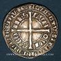 Coins Belgique. Flandres. Louis de Male (1346-1384. Gros compagnon 1346-1364