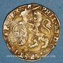 Coins Belgique. Flandres. Philippe IV (1621-1665). Escalin 1621. Tournai