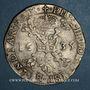 Coins Belgique. Flandres. Philippe IV (1621-1665). Patagon 1635. Bruges