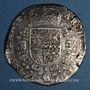 Coins Belgique. Flandres. Philippe IV (1621-1665). Patagon 1657. Bruges