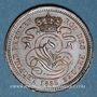 Coins Belgique. Léopold I (1831-1865). 2 centimes 1833