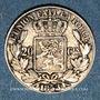 Coins Belgique. Léopold I (1831-1865). 20 centimes 1853 LW