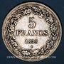 Coins Belgique. Léopold I (1831-1865). 5 francs 1833. Position B