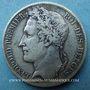 Coins Belgique. Léopold I (1831-1865). 5 francs 1833