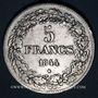 Coins Belgique. Léopold I (1831-1865). 5 francs 1844