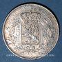 Coins Belgique. Léopold I (1831-1865). 5 francs 1850. Point au-dessus de la date