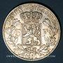 Coins Belgique. Léopold I (1831-1865). 5 francs 1850