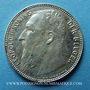 Coins Belgique. Léopold II (1865-1909). 1 franc 1909. Légende flamande, pas de point dans la signature