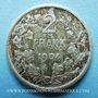 Coins Belgique. Léopold II (1865-1909). 2 francs 1904, légende flamande