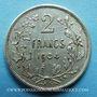 Coins Belgique. Léopold II (1865-1909). 2 francs 1904. Légende française, sans point dans la signature