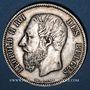 Coins Belgique. Léopold II (1865-1909). 5 francs 1873. Position A