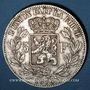Coins Belgique. Léopold II (1865-1909). 5 francs 1876. Position A