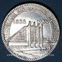 Coins Belgique. Léopold III (1934-1950). 50 francs 1935. Centenaire des Chemins de Fer Belges. Légende fl.